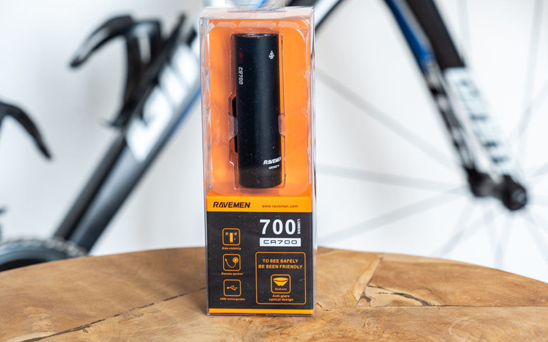 Ravemen CR700 review: compacte 'autokoplamp' voor op je fiets