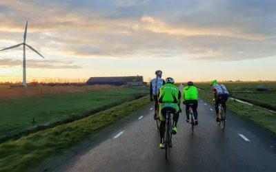 De Winterfiets Elfstedentocht: ijskoude feestparade langs 11 Friese steden